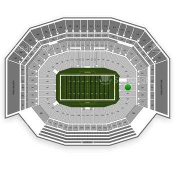 San Francisco 49ers at Levi's Stadium Section 127 View