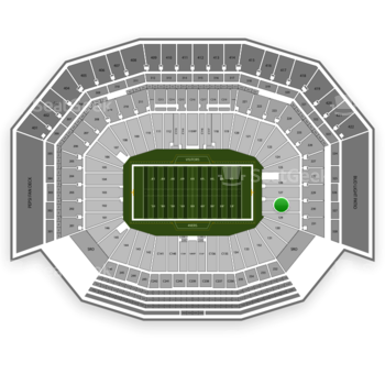 San Francisco 49ers at Levi's Stadium Section 128 View