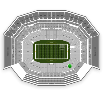 San Francisco 49ers at Levi's Stadium Section 132 View