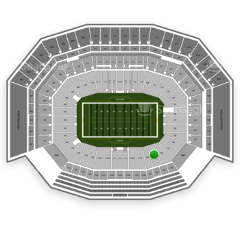 San Francisco 49ers at Levi's Stadium Section 133 View