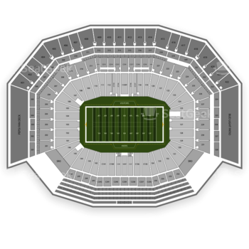 San Francisco 49ers at Levi's Stadium Section 137 View