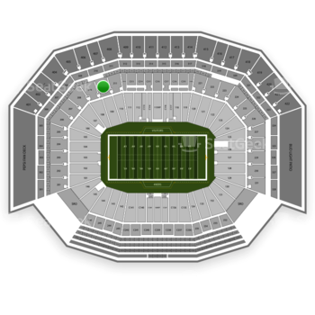 San Francisco 49ers at Levi's Stadium Section 210 View