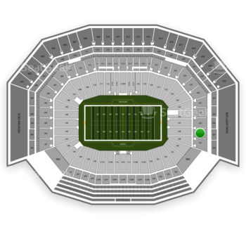 San Francisco 49ers at Levi's Stadium Section 230 View