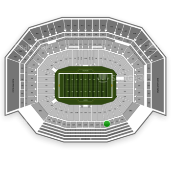 San Francisco 49ers at Levi's Stadium Section 235 View