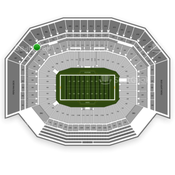 San Francisco 49ers at Levi's Stadium Section 308 View