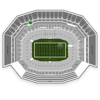 San Francisco 49ers at Levi's Stadium Section 310 View