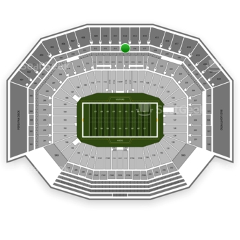 San Francisco 49ers at Levi's Stadium Section 315 View