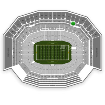 San Francisco 49ers at Levi's Stadium Section 319 View