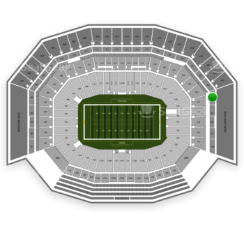 San Francisco 49ers at Levi's Stadium Section 324 View