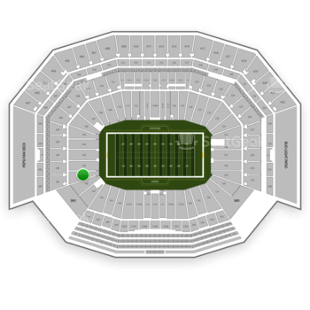 NFL at Levi's Stadium Section 101 View