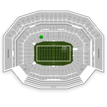 NFL at Levi's Stadium Section 110 View