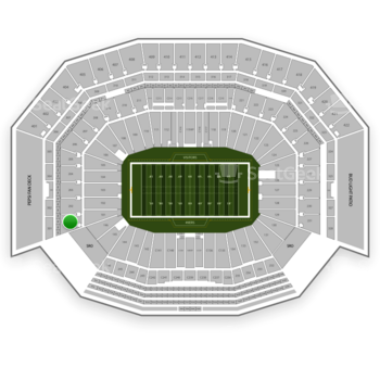 NFL at Levi's Stadium Section 201 View
