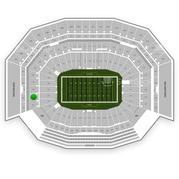 NFL at Levi's Stadium Section 202 View