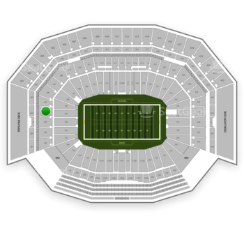 NFL at Levi's Stadium Section 204 View