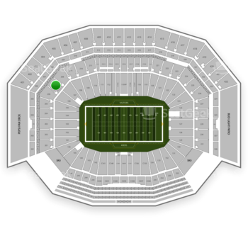 NFL at Levi's Stadium Section 207 View