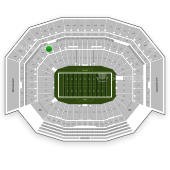 NFL at Levi's Stadium Section 209 View