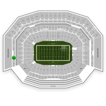 NFL at Levi's Stadium Section 302 View