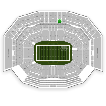 NFL at Levi's Stadium Section 316 View