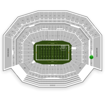 NFL at Levi's Stadium Section 327 View