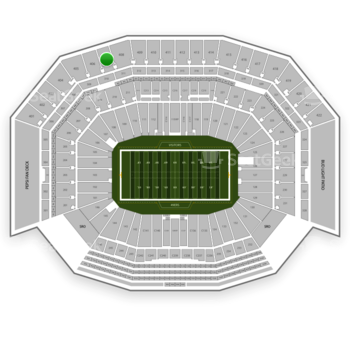 NFL at Levi's Stadium Section 407 View