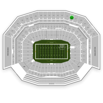 NFL at Levi's Stadium Section 416 View