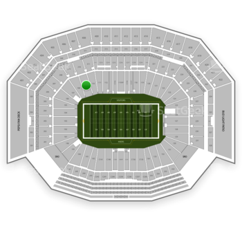 NFL at Levi's Stadium Section 109 View