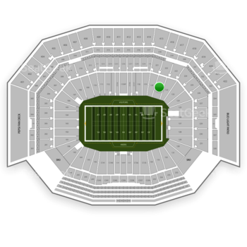NFL at Levi's Stadium Section 121 View