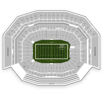 NFL at Levi's Stadium Section 137 View