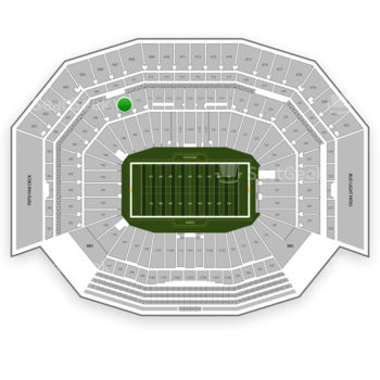 NFL at Levi's Stadium Section 210 View