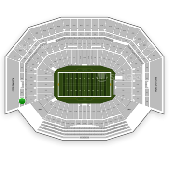 NFL at Levi's Stadium Section 301 View