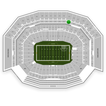 NFL at Levi's Stadium Section 318 View