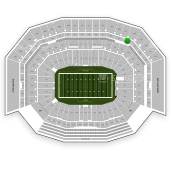 NFL at Levi's Stadium Section 320 View