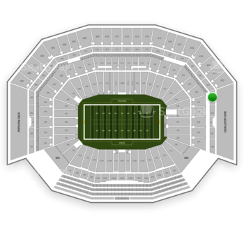 NFL at Levi's Stadium Section 324 View