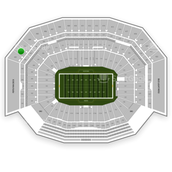 NFL at Levi's Stadium Section 402 View