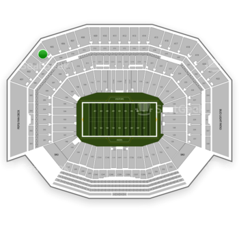 NFL at Levi's Stadium Section 404 View