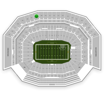 NFL at Levi's Stadium Section 408 View