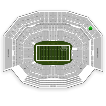 NFL at Levi's Stadium Section 420 View