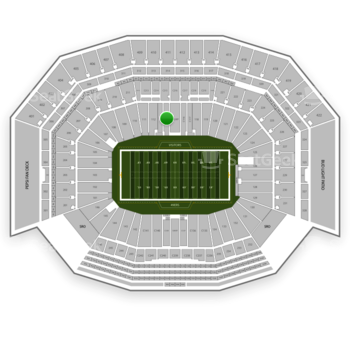 San Francisco 49ers at Levi's Stadium Section C 114 View