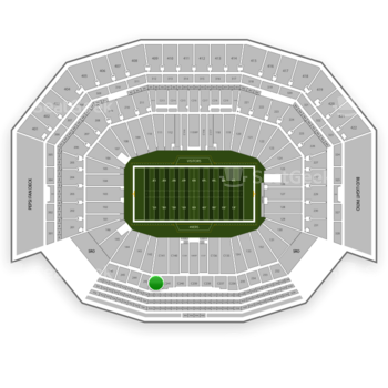 San Francisco 49ers at Levi's Stadium Section C 242 View