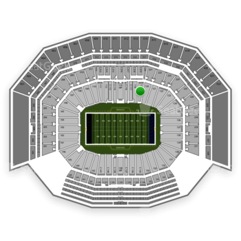 NFL at Levi's Stadium Section 119 View