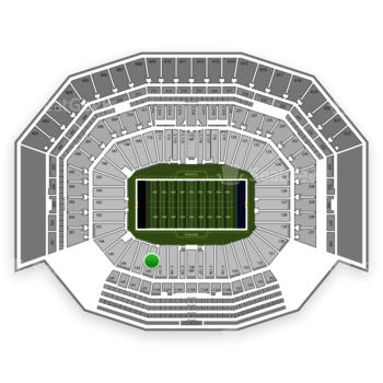 NFL at Levi's Stadium Section 142 View
