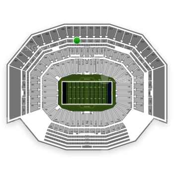 NFL at Levi's Stadium Section 313 View