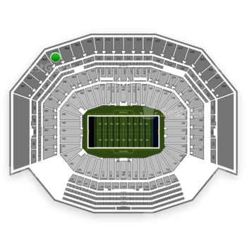 NFL at Levi's Stadium Section 405 View