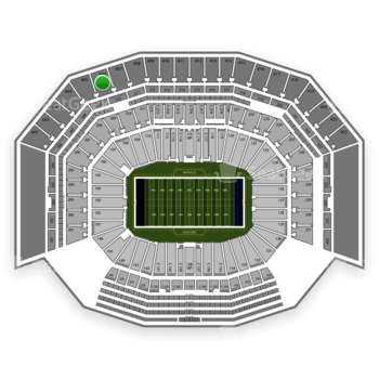 NFL at Levi's Stadium Section 406 View