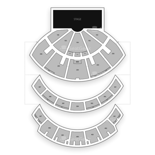 Caesars Palace Hotel and Seating Chart | SeatGeek on