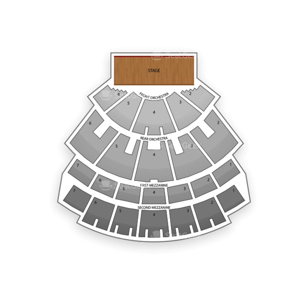 Caesars Palace Hotel And Casino Seating Chart  Interactive Seat - Us map trackid=sp 006