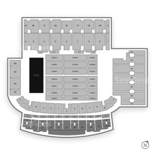 TD Place Stadium Seating Chart Concert