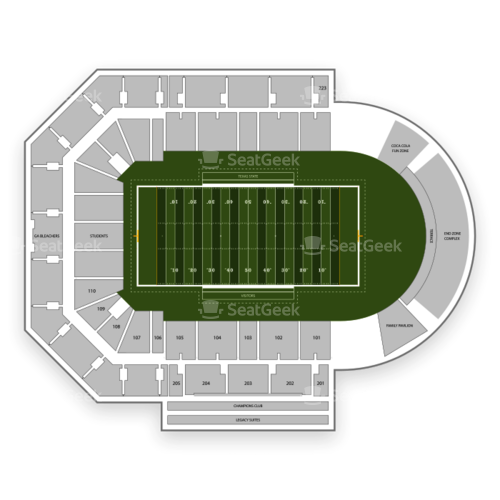 Texas State Bobcats Football Seating Chart