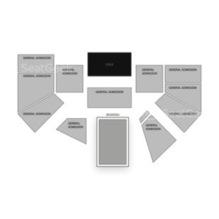 The Ark Seating Chart Concert