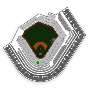 Cleveland Indians at Progressive Field Section 155 View